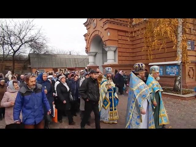 Праздник Озерянской иконы Божией Матери, Свято Озерянский храм, 12 ноября 2019 г.