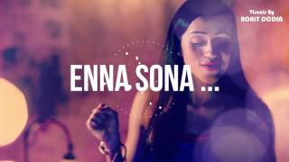 ENNA SONA & SHAPE OF YOU | Mashup Cover | Nupur Pant | VISUALS BY ROHIT DODIA