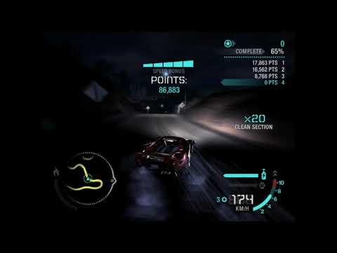NFS Carbon - Carrera GT Canyon Drift Super grip Tyres