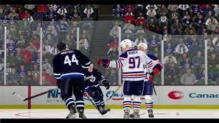 NHL 04 Rebuilt 2016-17 Edmonton VS. Winnipeg Full game from dyanasty