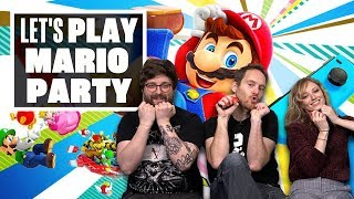 Let's Play Mario Party - SOUND STAGE AND RIVER SURVIVAL SHENANIGANS!