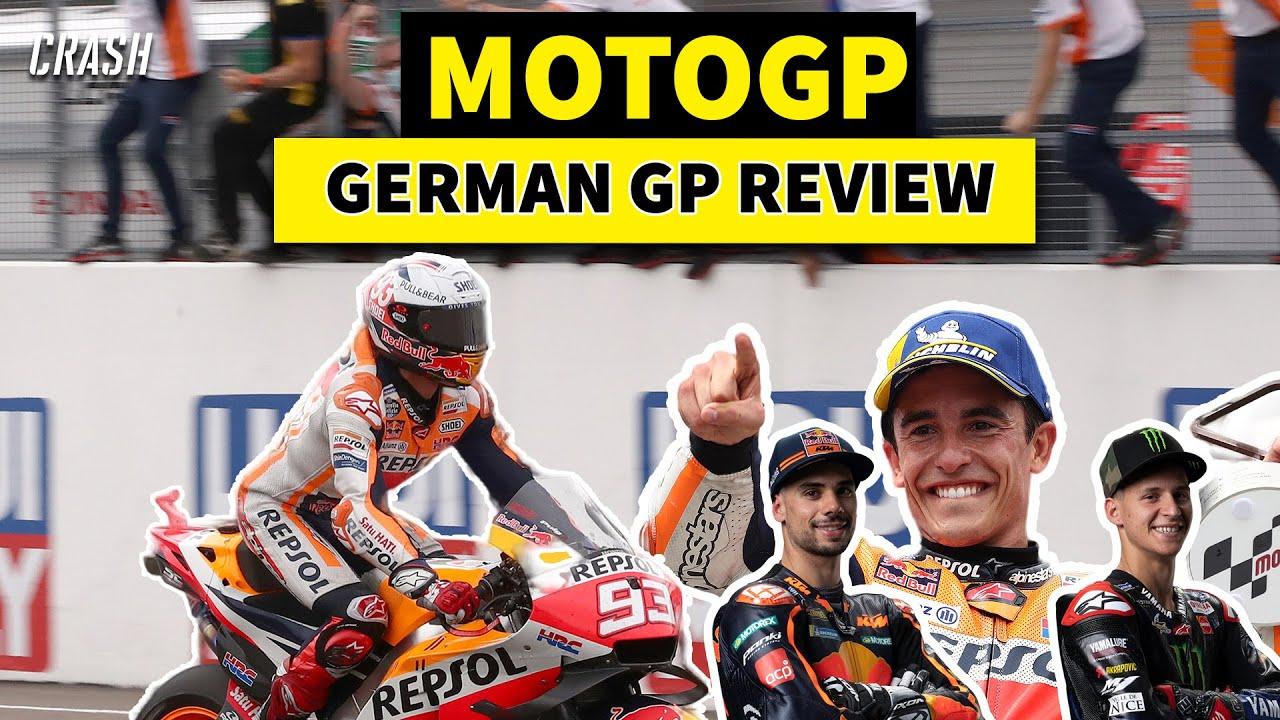 MotoGP 2021 | German GP Race Review | The Return of the King!