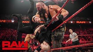 Braun Strowman & Ricochet vs. Drew McIntyre & Baron Corbin: Raw, April 29, 2019