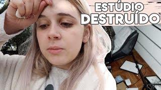 FURACÃO DESTRÓI O MEU ESTÚDIO | Joana Gentil