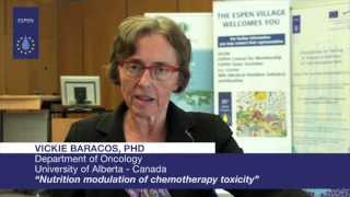EVL - Vickie Baracos, PhD : Nutrition modulation of chemotherapy toxicity
