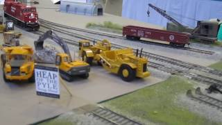 Super train 2016 part 2 -  North American HO layouts