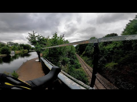 London Biking - Hanwell To Southall On River Brent/ Grand Union Canal