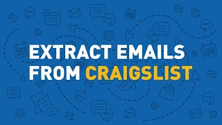 EMAIL EXTRACTOR - Extract emails from Craigslist with Email Hunter