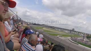 Scott Dixon wreck Indianapolis 500 2017