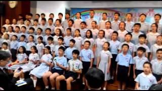 小學畢業禮的大合唱