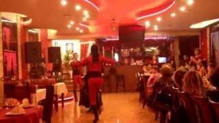 Продолжение танцев ресторане Шалахо