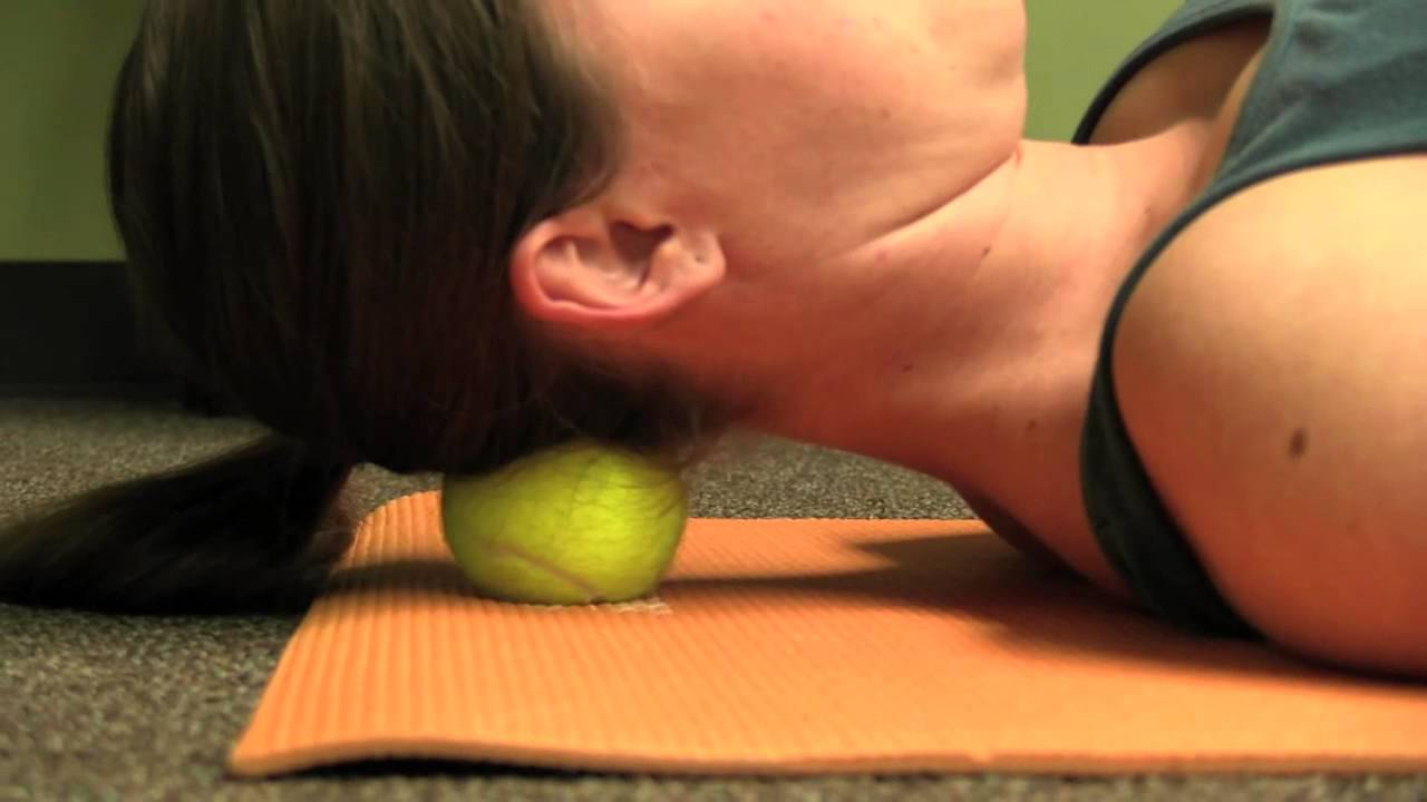 Technique of self-massage with cervical osteochondrosis 18