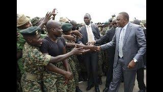 Rais Kenyatta Awaonya Vikali Wanaopora NYS