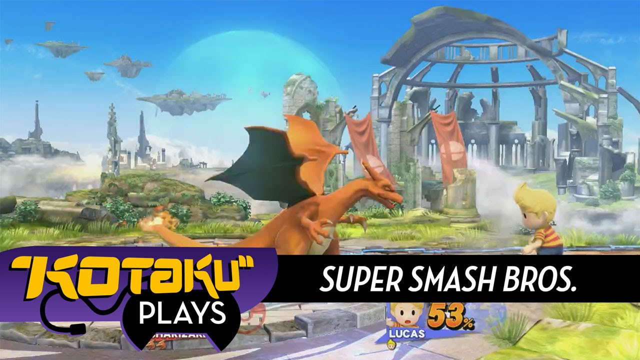 Kotaku Livestream Archive: Super Smash Bros. (Wii U)