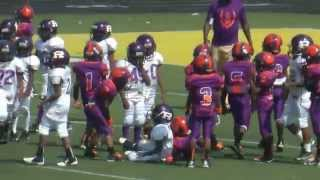 Eastside Tigers vs. Eastside Raiders (D-Team) Game Highlights (8-16-2014)