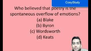 Best English Literature Quiz II