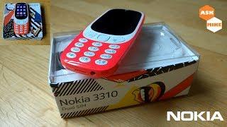 Nokia 3310 2017 Original vs Clone Comparison