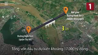 Hà Nội xây 4 cây cầu phải đổi hơn 800 ha đất