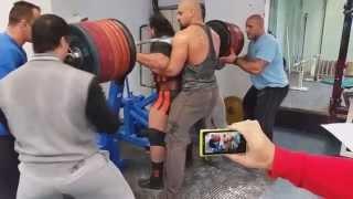 Zahir Khudayarov world record Squat 460kg RAW