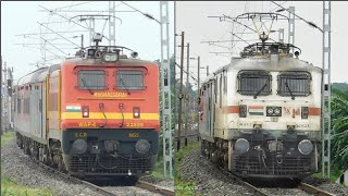 [8 in 1] Afternoon WAP-4 and WAP-7 back to back : Durgiana, Rajdhani, Duronto & More