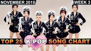 K-POP SONG CHART [TOP 25] - K-VILLE