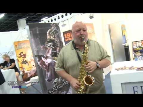Gamescom: Al Lowe spielt Saxophon und plant mehr mit Larry