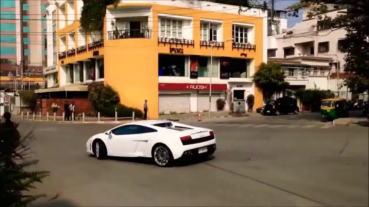 Challenging Star Darshan Purchased New Lamborghini Car Youtube