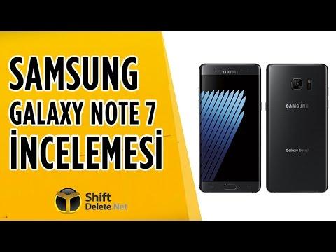 Galaxy Note 7 İnceleme - Hem Şık, Hem Teknolojik Hem İşlevsel