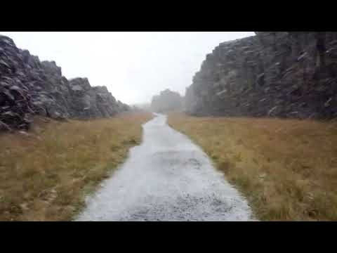 Walking the Rift Between the European and North American Plates in Iceland