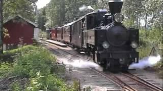 Tertitten Narrow Gauge Steam Museum Railroad Norway