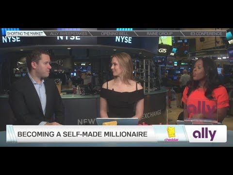 Tim Sykes Interview On The NYSE Floor With Cheddar