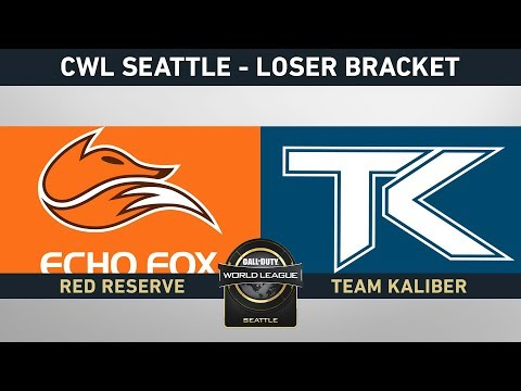 TEAM KALIBER VS ECHO FOX - LOSER BRACKET - #CWLSEATTLELVP