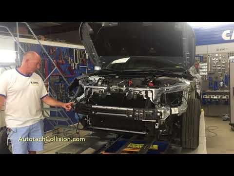 Autotech: Post Repair Inspection 2017 Honda