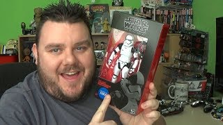 Star Wars Black Series Last Jedi First Order Stormtrooper Executioner Exclusive Action Figure Review
