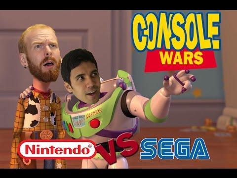 Console Wars - Toy Story - Super Nintendo vs Sega Genesis