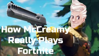 How McCreamy Really Plays Fortnite...
