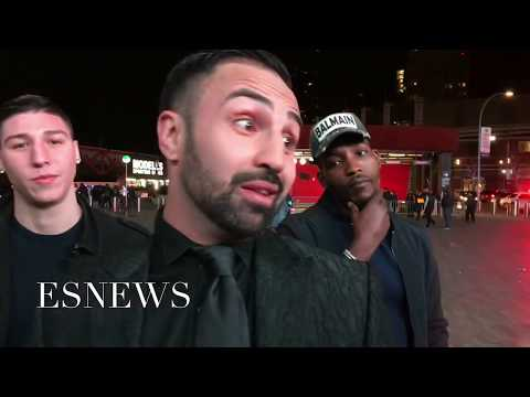 Paulie Malignaggi goes Crazy after the fights - EsNews