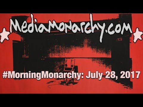 Rolled-Up Warhols & Concert Cults on #MorningMonarchy: #July28, 2017