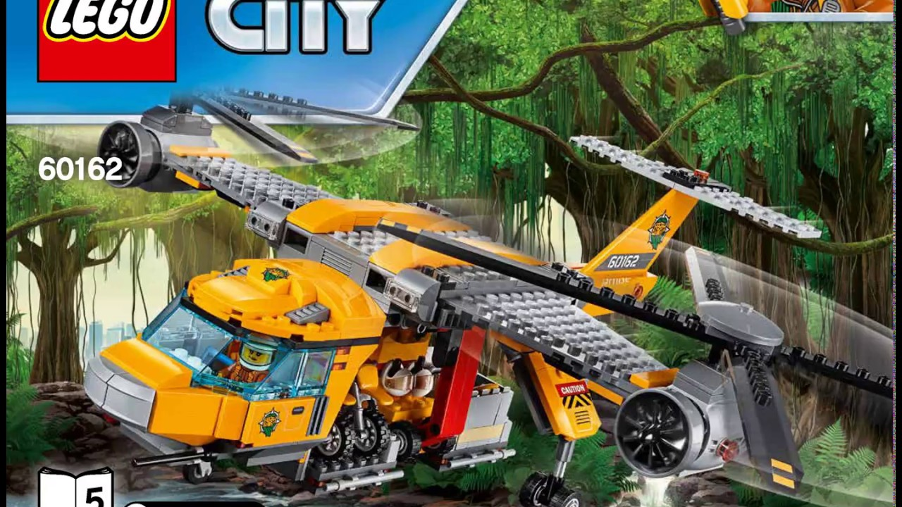 Lego Instructions 0162 City Jungle Air Drop Helicopter 5 5 ...