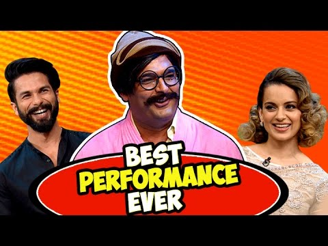 Thumbnail: Rajesh Arora's Best Performance Ever with Shahid Kapoor and Kangana Ranaut | The Kapil Sharma Show