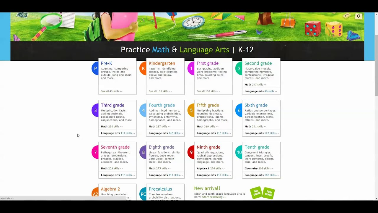 Drill and Practice Instructional Software for Mathematics - YouTube