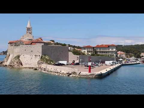 "KROATIEN - Kroatische Inseln ""Blaue Reise Rijeka - Krk - Rab - Zadar - Lošinj - Cres"" CROATIA"