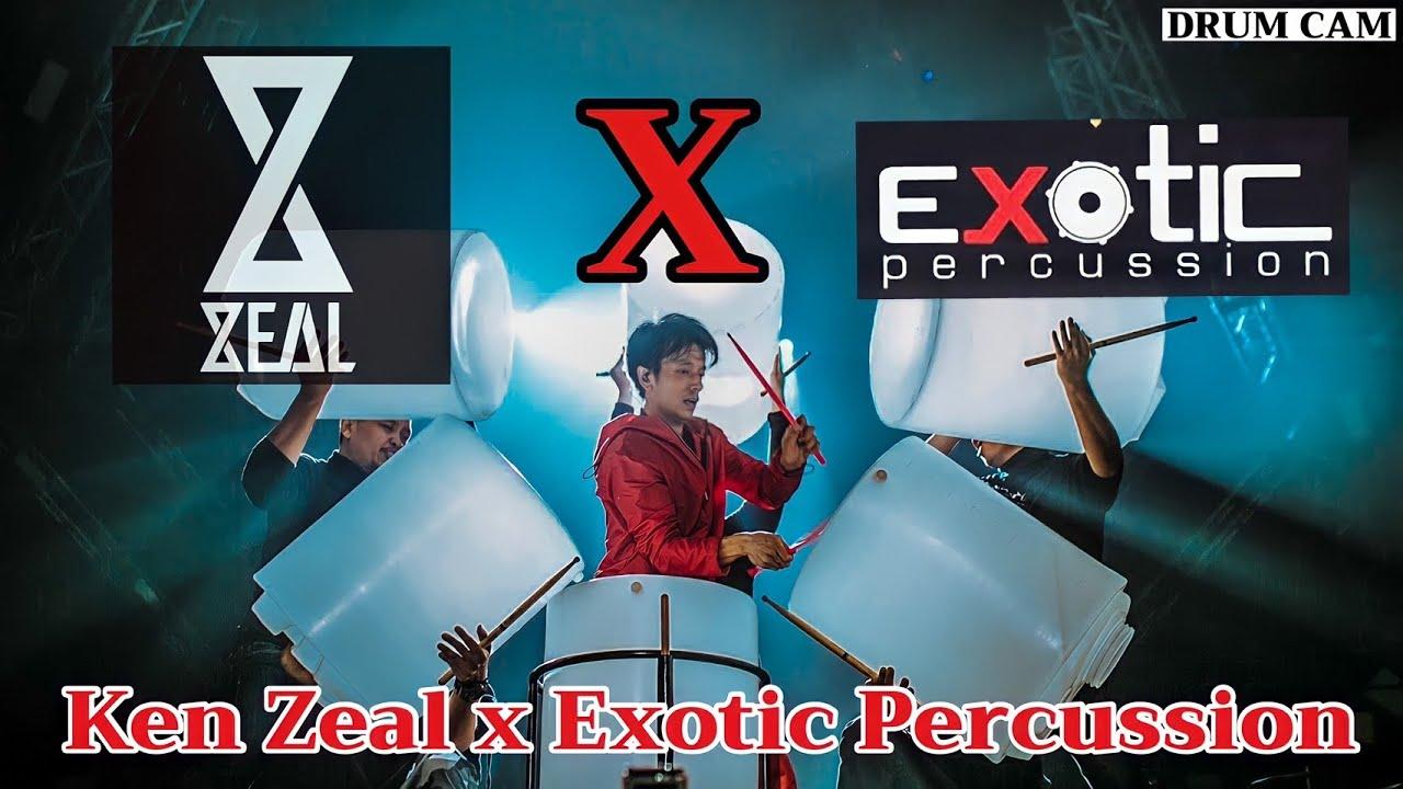 06 Drum Solo Ken ZEAL x Exotic Percussion ในงาน ZEAL 15 Yrs Concert