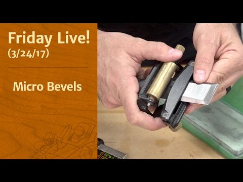 Micro Bevels - Friday Live!