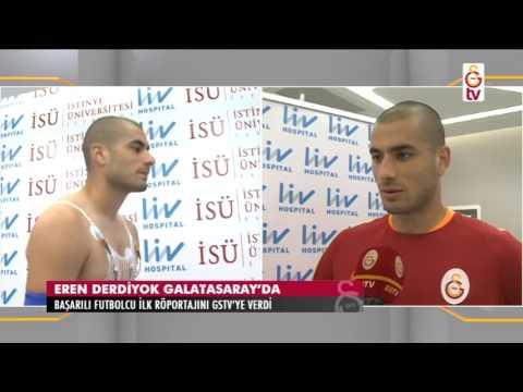 Gündem   Eren Derdiyok İlk Röportajını GSTV'ye verdi