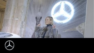 Stardrive  Susie Wolff at Mercedes Benz Fashion Week in Berlin – Mercedes Benz original
