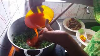 HOW TO COOK ERU (one of Cameroon