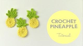 Easy Crochet Pineapple Tutorial