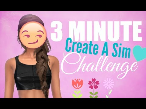 The Sims 4 / 3 Minute Create A Sim Challenge