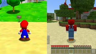 Minecraft Super Mario 64 Map Download